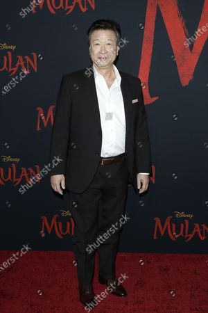Tzi Ma arrives for the world premiere of the movie 'Mulan' at the Dolby Theatre in Hollywood, Los Angeles, California, USA, 09 March 2020. The movie opens in theatres in the USA on 27 March 2020.