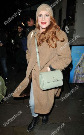 Editorial picture of 'City of Angels' cast departures, Garrick Theatre, London, UK - 09 Mar 2020