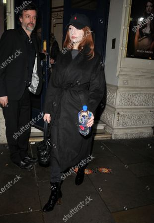 Editorial image of 'City of Angels' cast departures, Garrick Theatre, London, UK - 09 Mar 2020