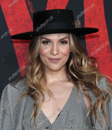 Stock Picture of Allison Holker