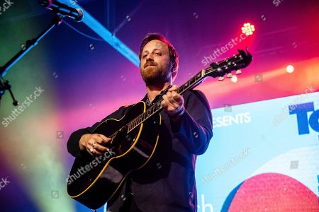 Stock Image of Dan Auerbach performs at the To Nashville, With Love Benefit Concert at Marathon Music Works, in Nashville, TN