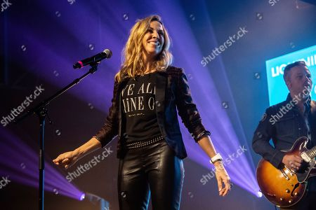 Sheryl Crow; Jason Isbell. Sheryl Crow, from left, and Jason Isbell perform at the To Nashville, With Love Benefit Concert at Marathon Music Works, in Nashville, TN