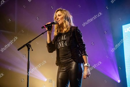 Stock Image of Sheryl Crow performs at the To Nashville, With Love Benefit Concert at Marathon Music Works, in Nashville, TN