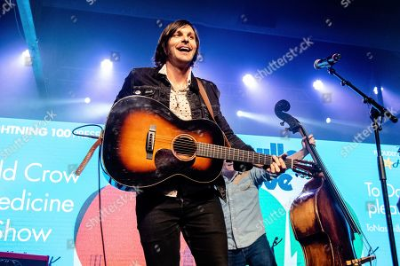 Stock Picture of Charlie Worsham of Old Crow Medicine Show performs at the To Nashville, With Love Benefit Concert at Marathon Music Works, in Nashville, TN