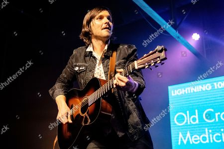 Stock Image of Charlie Worsham of Old Crow Medicine Show performs at the To Nashville, With Love Benefit Concert at Marathon Music Works, in Nashville, TN