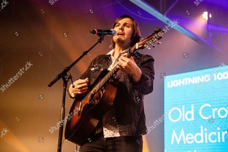 Charlie Worsham of Old Crow Medicine Show performs at the To Nashville, With Love Benefit Concert at Marathon Music Works, in Nashville, TN