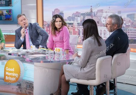 Piers Morgan, Susanna Reid, Andrew Pierce, Kevin Maguire and Lisa Nandy