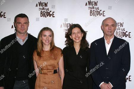 Liev Schreiber, Scarlett Johansson, Jessica Hecht, Gregory Mosher