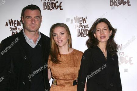 Liev Schreiber, Scarlett Johansson, Jessica Hecht