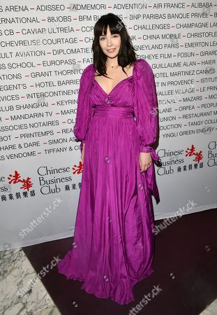 Editorial picture of Chinese Business Club dinner, Paris, France - 09 Mar 2020