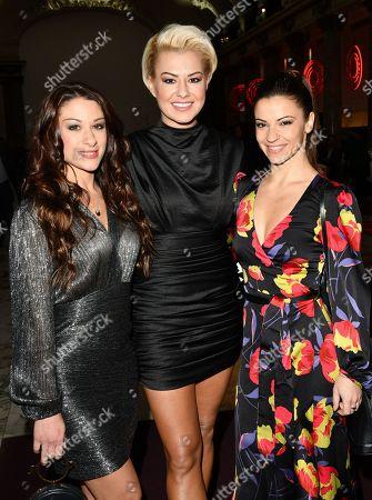 Jade Geropp, Katrina Patchett and Densita Ikonomova