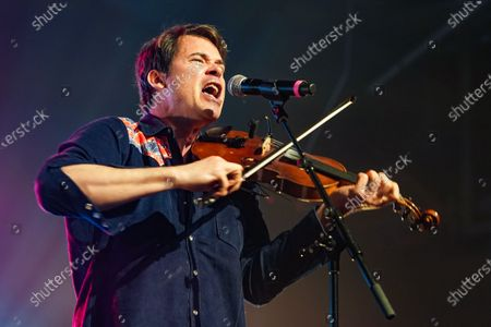 Ketch Secor, Old Crow Medicine Show, performs at Music Marathon Works.
