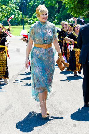 Queen Maxima at Bogor Palace