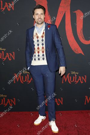 Editorial image of World Premiere of Mulan in Hollywood, Los Angeles, USA - 09 Mar 2020