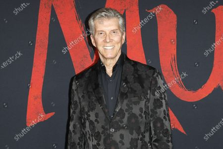 Michael Buffer arrives for the World Premiere of Mulan at the Dolby Theatre in Hollywood, Los Angeles, California, USA, 09 March 2020. The movie opens in the US on 27 March 2020.