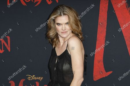 Missi Pyle arrives for the World Premiere of Mulan at the Dolby Theatre in Hollywood, Los Angeles, California, USA, 09 March 2020. The movie opens in the US on 27 March 2020.