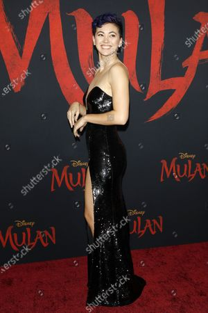 Jessica Henwick Arrives World Premiere Mulan Dolby Editorial Stock Photo Stock Image Shutterstock