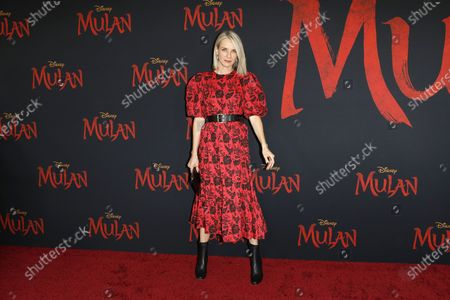 Stock Photo of Ever Carradine arrives for the World Premiere of Mulan at the Dolby Theatre in Hollywood, Los Angeles, California, USA, 09 March 2020. The movie opens in the US on 27 March 2020.