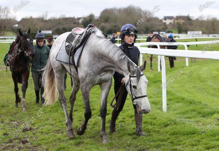 Jockey Katie Walsh with Red White Jack