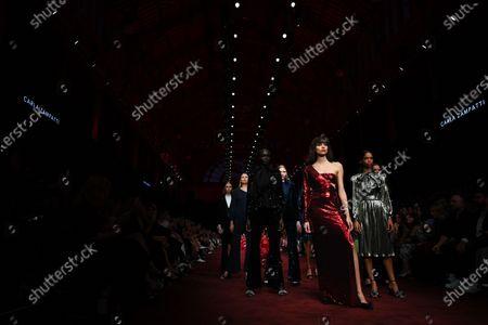 Editorial photo of Melbourne Fashion Festival, Australia - 10 Mar 2020