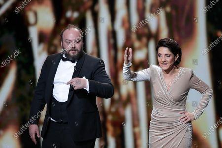 Editorial photo of 45th Cesar awards, Ceremony, Paris, France - 28 Feb 2020