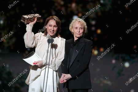 Emmanuelle Bercot and Claire Denis for Romain Polanski Cesar