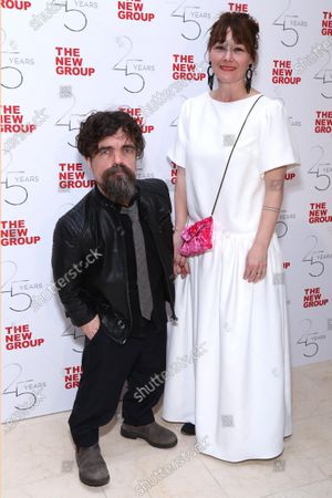 Stock Image of Peter Dinklage and Erica Schmidt