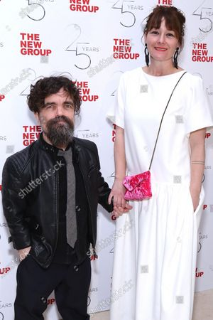 Stock Photo of Peter Dinklage and Erica Schmidt