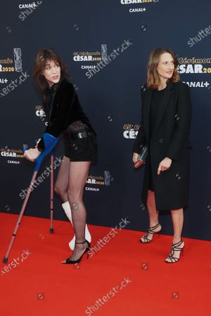 Charlotte Gainsbourg and Camille Cottin