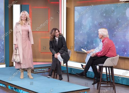 Trinny Woodall, Phillip Schofield and Holly Willoughby