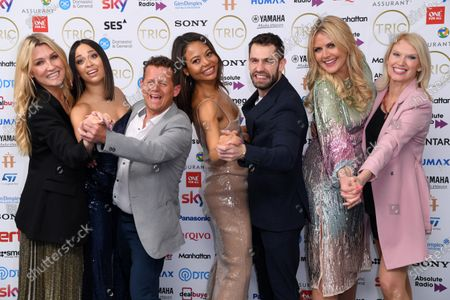 Editorial image of The TRIC Awards, Press Room, Grosvenor House, London, UK - 10 Mar 2020