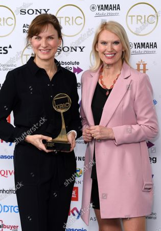 Stock Picture of Fiona Bruce - News Presenter, presented by Anneka Rice