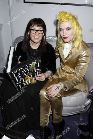 Roxanne Lowit and Pam Hogg