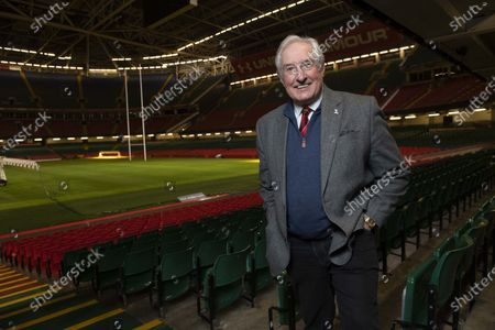 Sir Gareth Edwards at Principality Stadium.