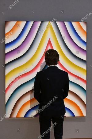 Editorial picture of Bonhams Post-War and Contemporary Art Sale, London, UK - 10 Mar 2020