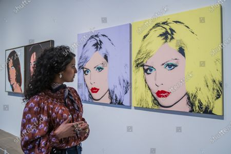 Stock Image of Debbie Harry, Mick Jagger and other portraits