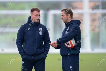Editorial photo of Scotland Rugby, Training Session - 10 Mar 2020