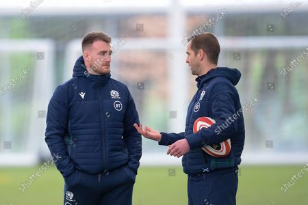 Editorial picture of Scotland Rugby, Training Session - 10 Mar 2020