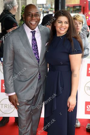 Ainsley Harriott and Maddie Harriott