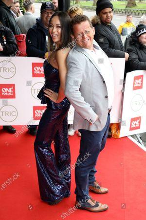 Mike Bushell and Katya Jones