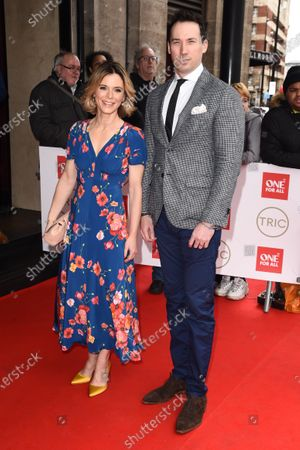 Stock Photo of Emilia Fox and David Caves