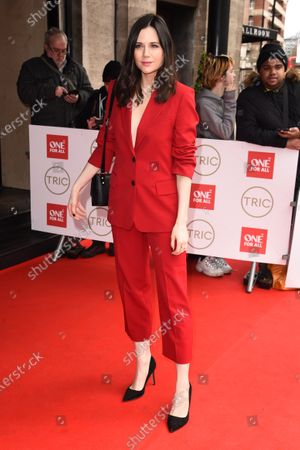 Editorial picture of The TRIC Awards, Arrivals, Grosvenor House, London, UK - 10 Mar 2020