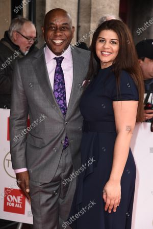 Ainsley Harriott and daughter