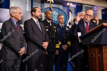 Editorial picture of Trump Virus Outbreak, Washington, USA - 10 Mar 2020