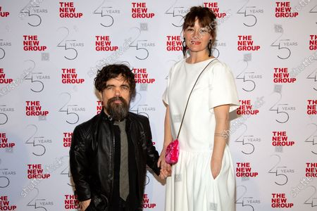 Stock Picture of Peter Dinklage and Erica Schmidt