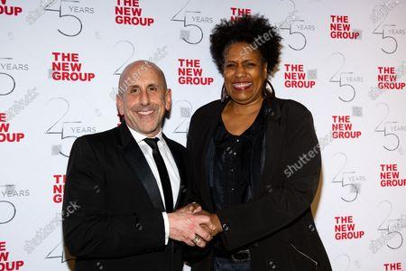 Scott Elliott and Nancy Giles