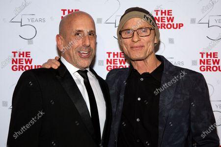 Stock Picture of Scott Elliott and Ed Harris