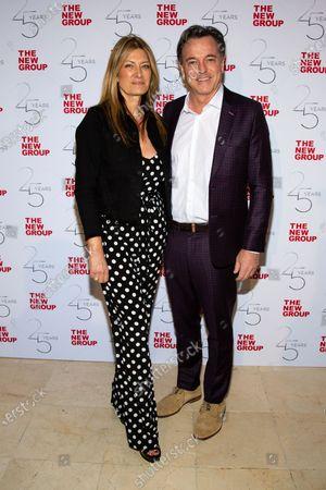 Stock Image of Lia Vollack and Derek McLane