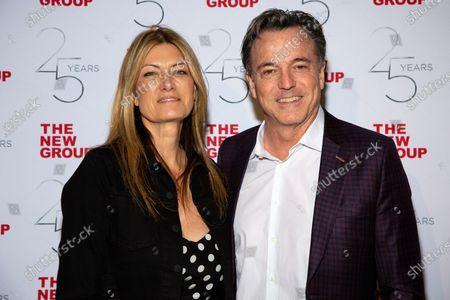 Lia Vollack and Derek McLane