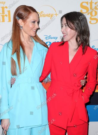 Darby Stanchfield and Julia Hart